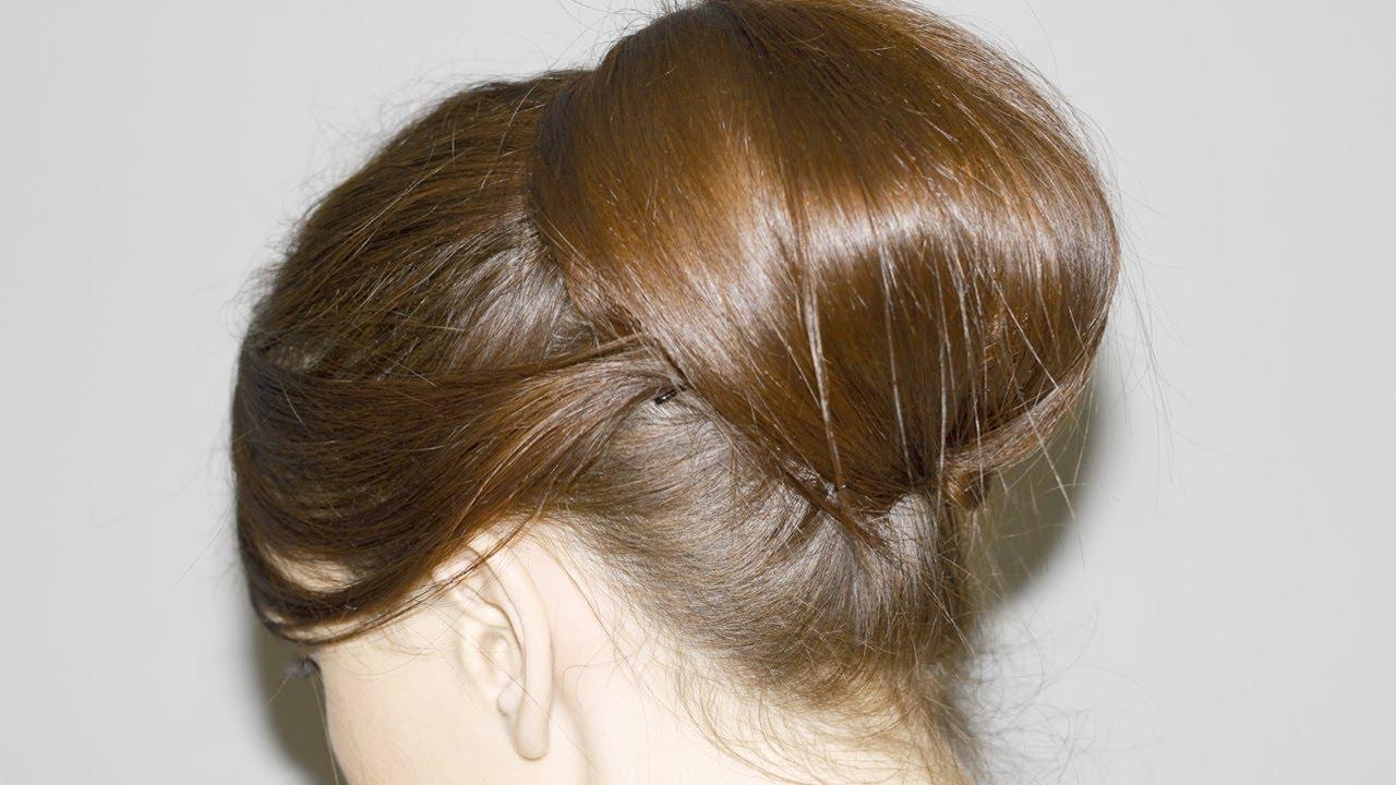 Recogido vintage elegante y f cil media melena y cabello largo youtube - Peinados faciles y elegantes ...