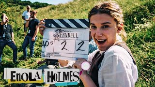 Enola Holmes - Behind The Scenes  | Millie Bobby Brown, Louis Partridge & Henry Cavill
