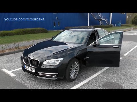 BMW 7 2015 Interior And Exterior + Short Test Drive