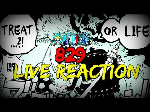 BRUH! |One Piece Manga Chapter 829 Live Reaction | The Yonko, Charlotte Linlin The Pirate!