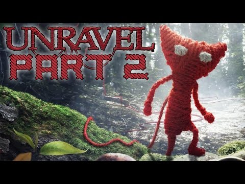 "Unravel - Let's Play - Part 2 - [The Sea] - ""The Crabs Attack!"""