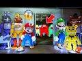 ANIMATRONICS & SUPER MARIO BROS ODYSSEY vs 3AM GHOSTS! (GTA 5 Mods For Kids FNAF RedHatter)