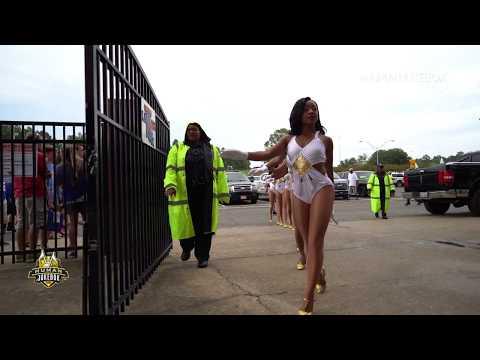 Southern University Human Jukebox Marching In @ Louisiana Tech 2018