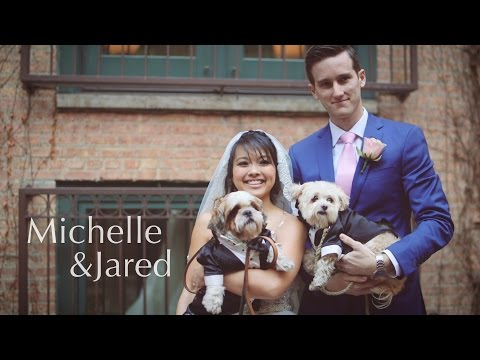 Michelle & Jared Wedding Day @ The Ivy Room Chicago