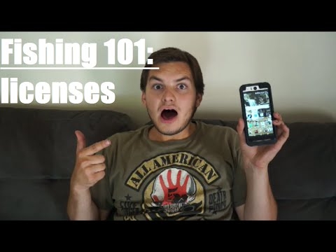 Fishing 101 Ep. 1 How To Get A Fishing License