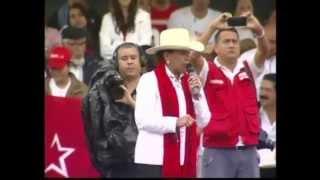 Visita de Xiomara Castro a la ciudad de Santa Rosa de Copán, departamento de Copán.