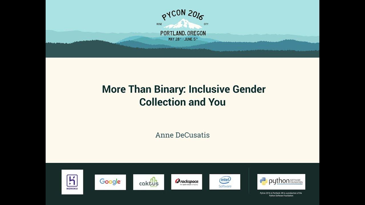 Image from More Than Binary: Inclusive Gender Collection and You