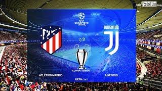 PES 2019 | ATLETICO MADRID vs JUVENTUS | UEFA Champions League - UCL | Gameplay PC