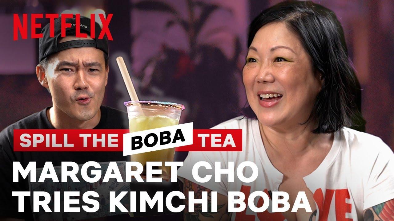 Margaret Cho Tries Kimchi Boba?! Spill the Boba Tea | Netflix