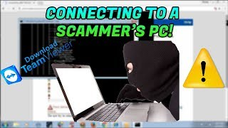 ACCESSING A SCAMMER'S PC - FILES DOWNLOADED