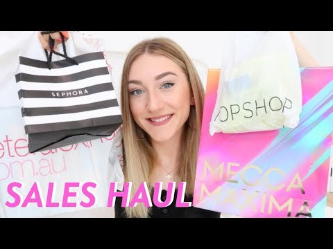 BOXING DAY SALES HAUL 2018!!