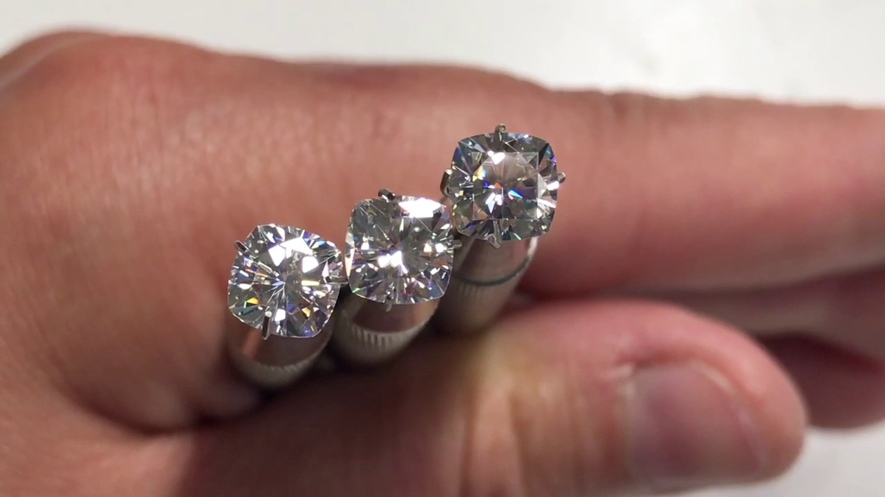 watch ghi comparing diamond color in daylight youtube natural