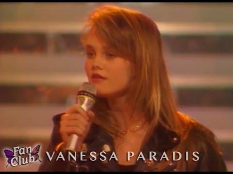 """Vanessa Paradis - """"Manolo Manolete"""" à Champs-Elysées le 23 janvier 1988"""