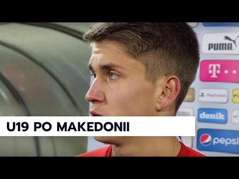 U19 | Ohlasy po výhře 2:1 nad Makedonií