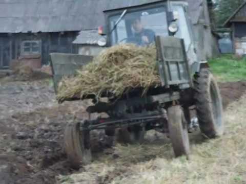 Самодельные навески на трактор т 16