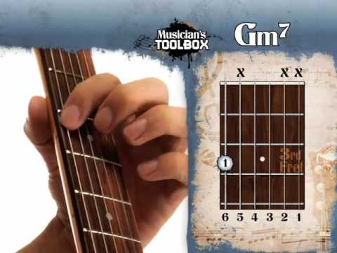 how to play the g minor 7 chord on guitar gm7 youtube. Black Bedroom Furniture Sets. Home Design Ideas