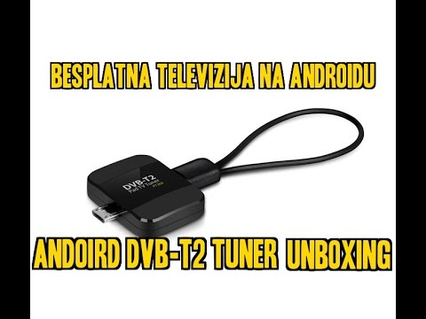 android dvb t2 tuner unboxing besplatna televizija na. Black Bedroom Furniture Sets. Home Design Ideas