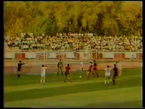 18 sep 1985 Uefa Cup Dinamo - Vardar Skopje