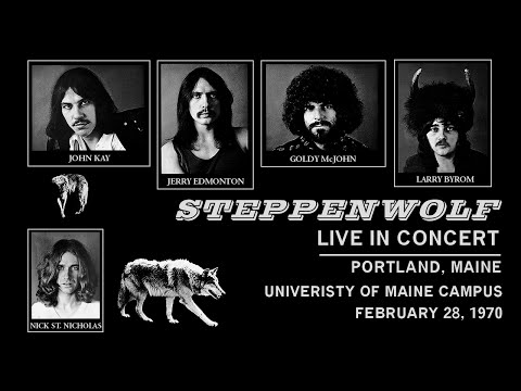 Steppenwolf - Portland, Maine 2/28/1970 - live