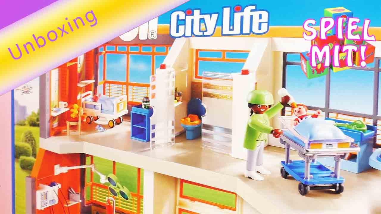 playmobil krankenhaus deutsch - playmobil kinderklinik