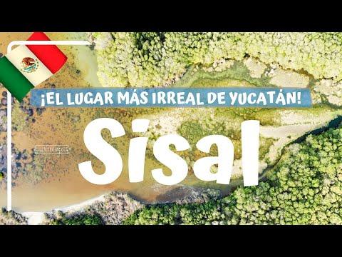 SISAL, UN VERDADERO PARAISO EN MÉXICO! Naturaleza ESPECTACULAR!!! - Yucatán #8 Luisito viajero