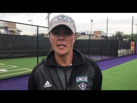 Coach Kristy Norton Postgame Interview: James Madison (Apr. 23, 2017)