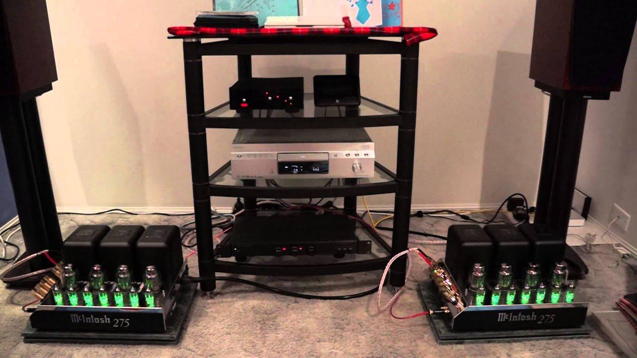 MC275 - McIntosh Stereo Amplifier