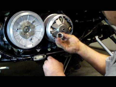 EPI Clutch Kit Wet Spring Install Part 4 For Suzuki 700