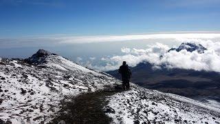 Uhuru Peak, the summit of Kilimanjaro