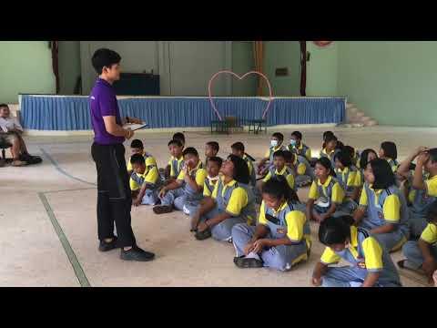 การสอน เรื่อง มารยาทในการเล่นกีฬาเทเบิลเทนนิส วงรอบที่ 2