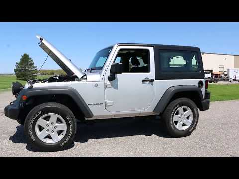 $16,995 – 2011 Jeep Wrangler Sport For Sale~6 Speed~Har Top~1 Owner~Fogs