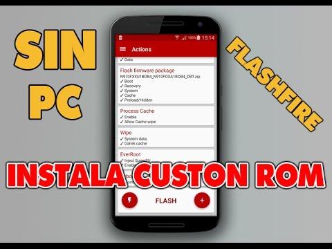INSTALAR CUSTOM ROM SIN PC - FLASHFIRE PARA LG G4
