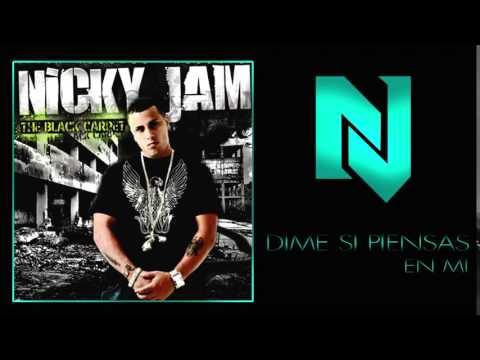 Nicky Jam - Dime si piensas en mi (The Black Carpet)