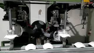 Auto Melamine Crockery Grinding Machine