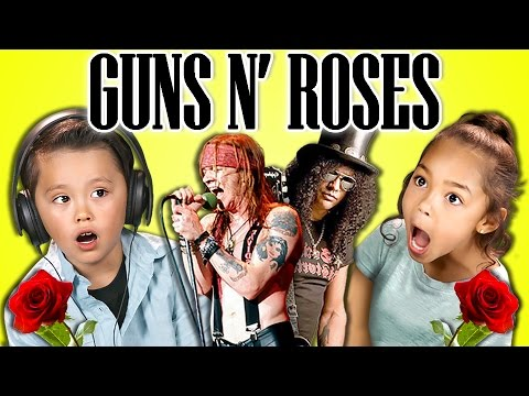 Thumbnail: KIDS REACT TO GUNS N' ROSES