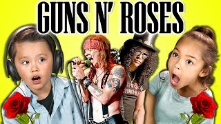 kids react to guns n roses