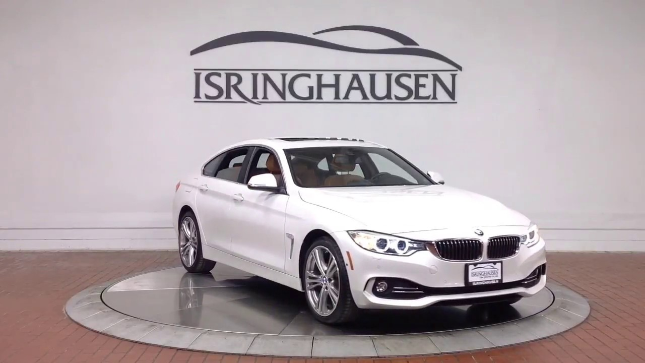 2016 Bmw 428i Gran Coupe In White 138605a Youtube