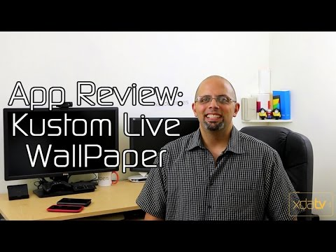 Customize Your Live Wallpaper Xda App Review Youtube