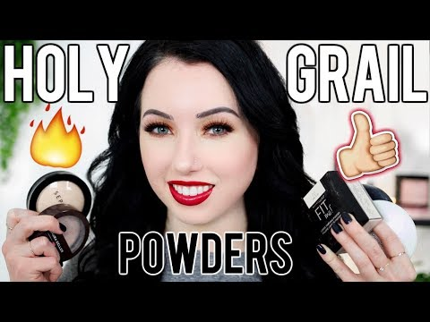 My ALL TIME FAVORITE Setting Powders! Drugstore & High End | Oily, Dry & Normal Skin