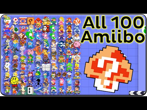 Download video: Super Mario Maker All Amiibo Costumes (Death & Victory ...