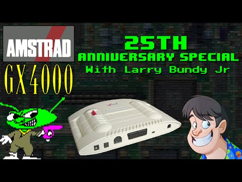 Retro Special - Amstrad GX4000: 25th Anniversary with Larry Bundy Jr