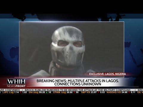 Captain America: Civil War: Nigerian Attack with Cap, Black Widow News Report