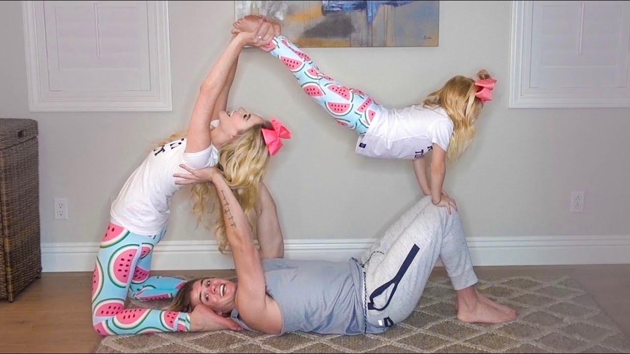 Crazy 3 Person Yoga Poses   Wajiyoga.co