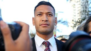 Super League player 'shocked, disappointed' at Israel Folau's signing