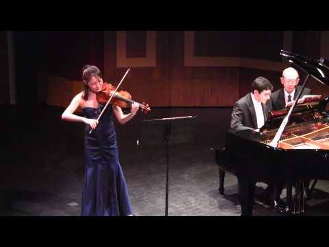 Rachel Lee Plays Kreisler's Tambourin Chinois and Manuel de Falla's Canción for Encore Performance