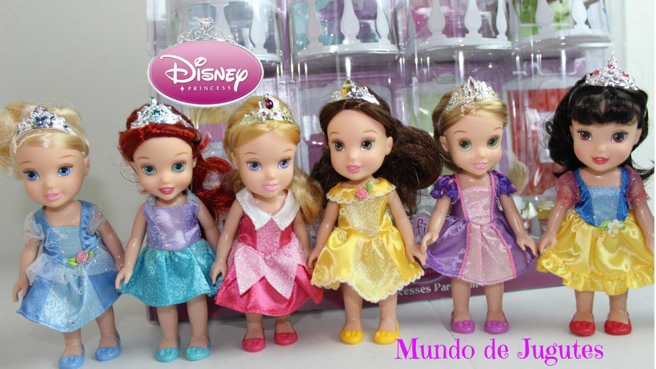 7 mini princesas disney 7 petite disney princesses mundo de jugutes youtube - Petite princesse disney ...