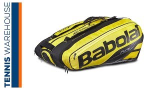 Babolat Pure Aero 12 Pack Tennis Bag 2019