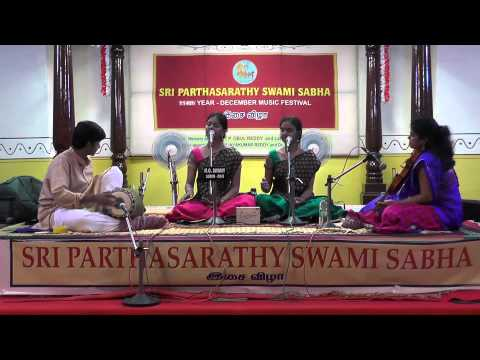 Carnatic Vocal Concert by Anahitha & Apoorva Ravindran - Global Music Fest 2015