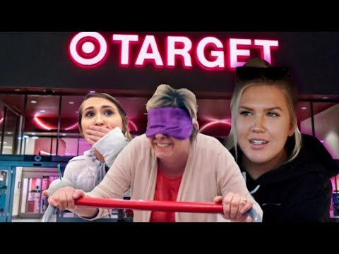 Buying EVERYTHING My Mom Touches Blindfolded!