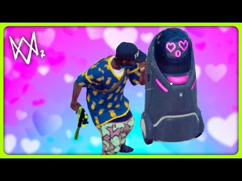ROBOT OF LOVE | Watch Dogs 2 Free Roam
